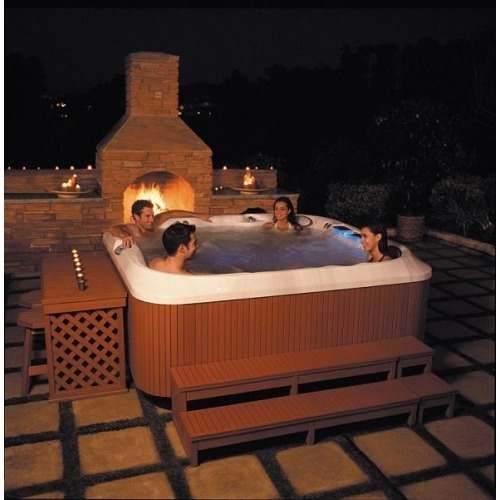 jacuzzi exterior Buscar con Google Home Pinterest Searching
