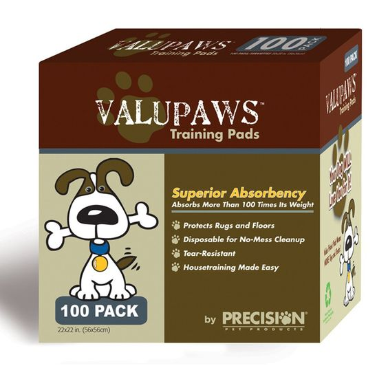 PRECISION VALUPAWS HOUSEBREAKING PEE PADS