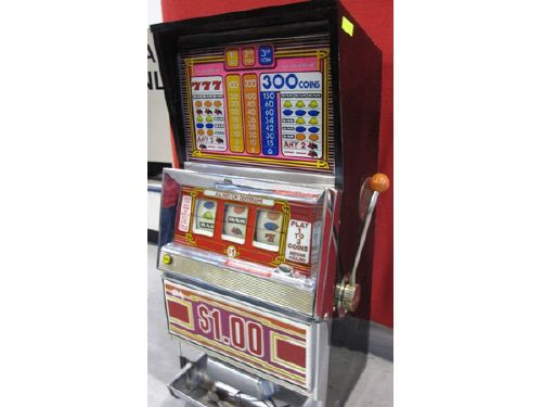 Bally Vintage Quarter Slot Machine