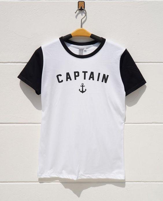 S M L XL  Captain Tshirts Graphic Tshirts Teen Tumblr by monopoko