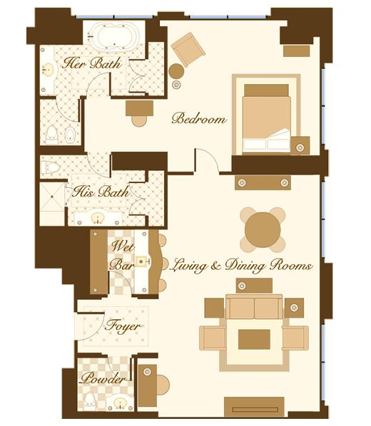 Las Vegas Suite Bellagio Hotel Las Vegas Floorplans I Love