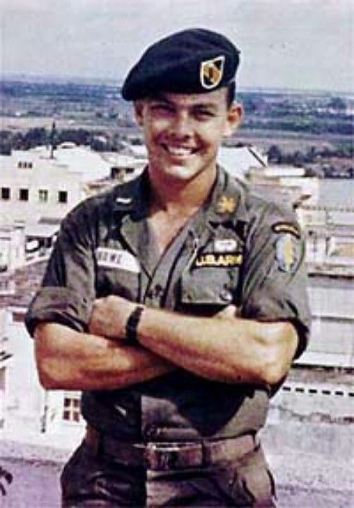 Nick Rowe the only American to escape from POW camp in Vietnam.  Creator of SERE School.  One of my daddy's best friends.  He brought me a doll when I was 5.