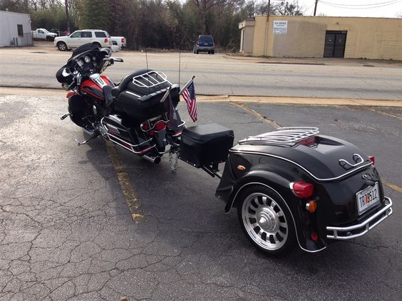 Heritage Motorcycle Trailer   Pull Behind Motorcycle Trailer   The USA Trailer Store