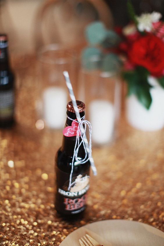 Valentine's Day Soda Favor Tags