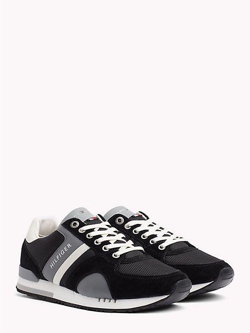 Tommy Hilfiger Sneaker In Blockfarben Black Tommy Hilfiger Sneakers Main Image Herrin Sneaker Tommy Hilfiger
