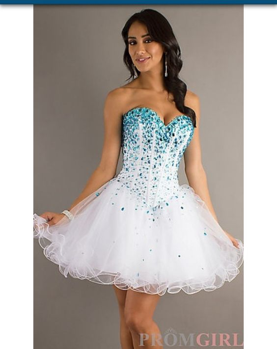 Cool prom dress it has a faded kind of blue theme - Prom dresses ...