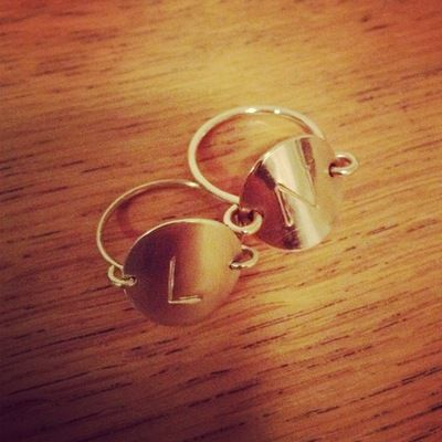 Natalie Marie Jewellery-Need that 'L' ring