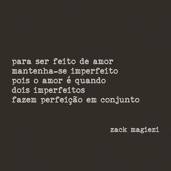 Bom dia! O dia hoje começa bem com a poesia de Zack Magiezi | Joias Renata Rose: