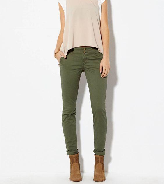 American Eagle - Olive pants ❤️ I want!