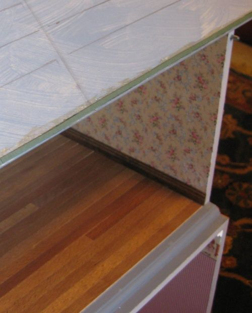 How To Lay Self Adhesive Wood Flooring In A Dollhouse Doll House Flooring Wood Adhesive