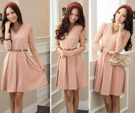 teen girl style and trendy clothing dress women 20142015