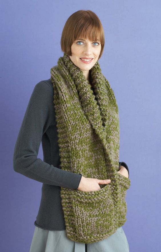 Knitting Pattern Scarf With Pockets : Pinterest   The world s catalog of ideas