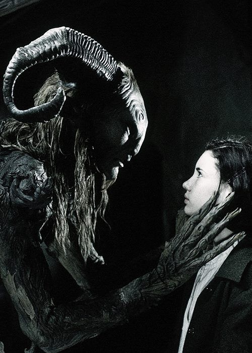 Pan's Labyrinth - that weird place between innocence and horror.