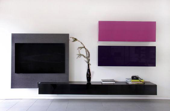 sala de tv minimalista pequeña  Buscar con Google ~ Sala Tv Minimalista