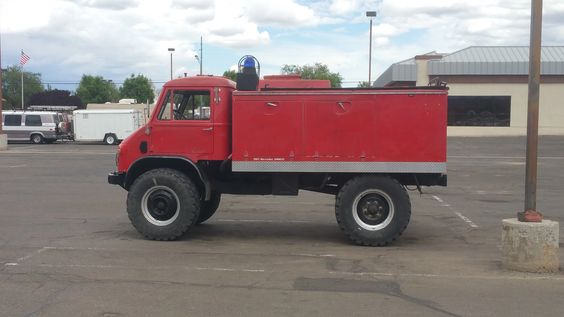 Photo: I know this isn't a car but while I was at work (autozone) a guy came in with this, A 1965 Mercedes Unimog