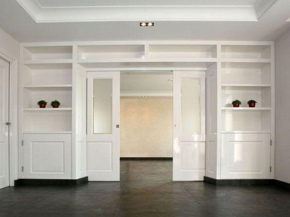 Kamer en suite handige opbergruimte ernaast idee n - Keuken en woonkamer in dezelfde kamer ...