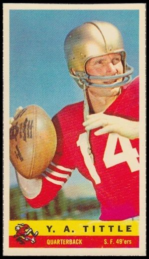Y.A. Tittle - San Francisco 49ers - Quarterback