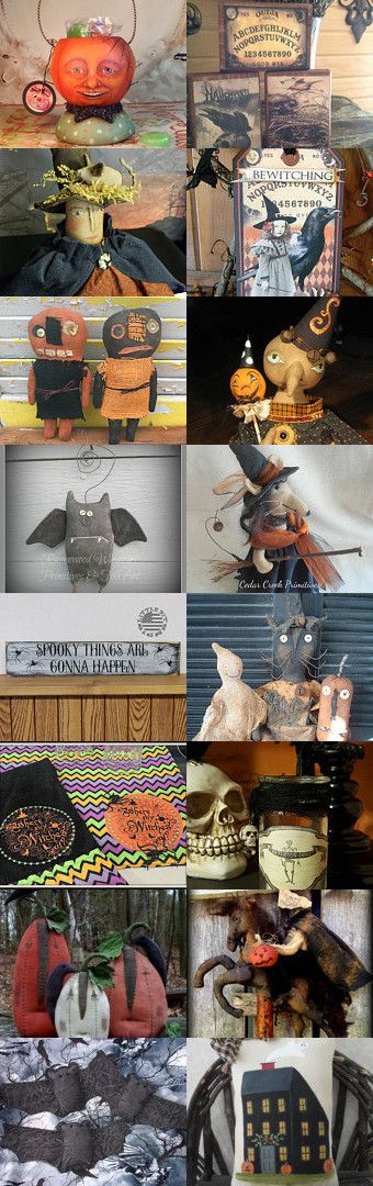 Spooky by Michelle on Etsy--Pinned+with+TreasuryPin.com