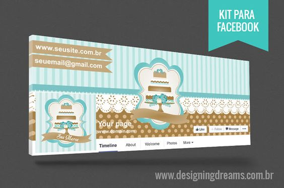 Identidade Visual Cake design
