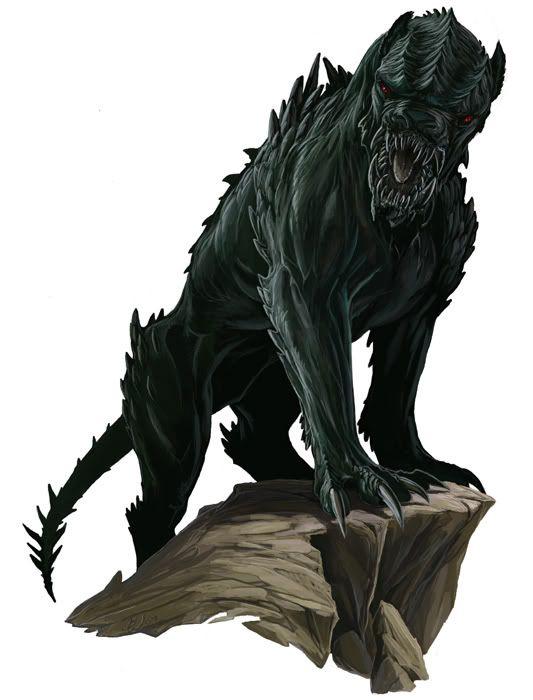 Gwyllgi (Undead/Beast/Shade)(Large) – The second evolution ...