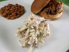 Blue cheese cole slaw. This is one of the best recipes I've found!
