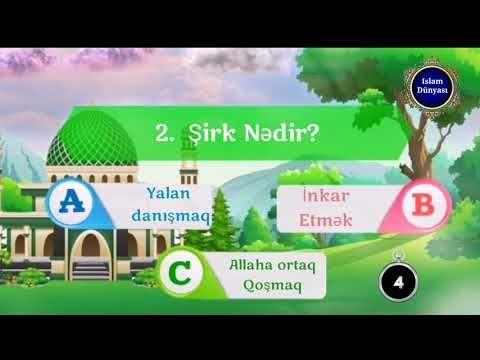 Sual Və Cavab Usaqlar Ucun Islam Dininə Ait Maraqli Oyun Bizə Qatilin Sizde Faydalanin Youtube In 2020 Youtube Islam Videos