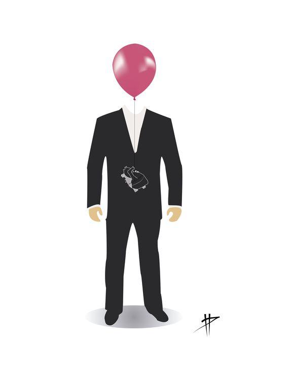 Hombre globo (Illustraitor)  Ismael Panadero