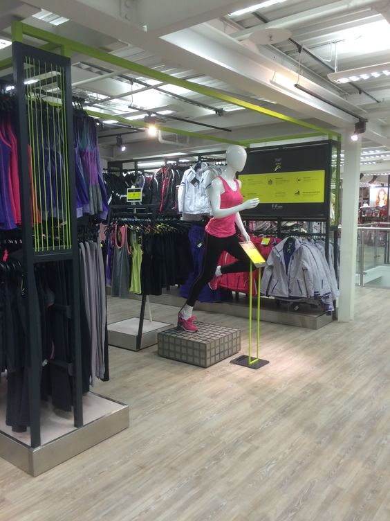 Tesco - F&F - Pitsea - Fitness - Clothing - Layout Landscape - Visual Merchandising - www.clearretailgroup.eu
