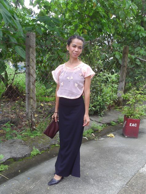 Kimona A Philippine Traditional Clothing Traditional