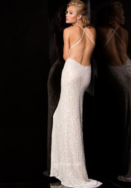 Open Back Scala Prom Dress 47542 - Wedding Ideas - Pinterest ...