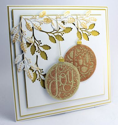 Happy Friday,   Well its a quick change from Autumn to Christmas with the First Christmas card of September!   This looks like a complex c...