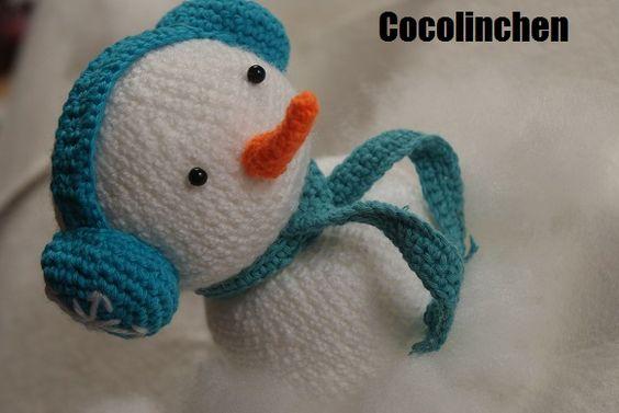 Cocolinchen : Der Winter kommt, der Schneemann ist schon da!