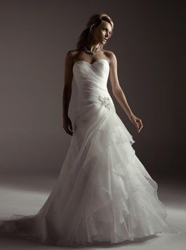 Sample Wedding Gown for Sale. Casablanca A055 Wedding Dress $420.  Save 60% off retail.