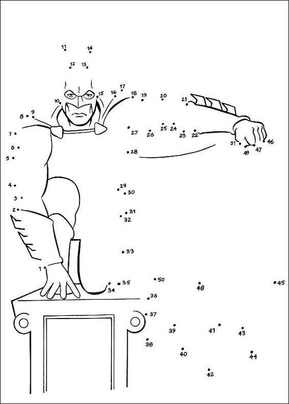 Coloriage point a point a imprimer batman sur le mur - Coloriage a imprimer batman gratuit ...