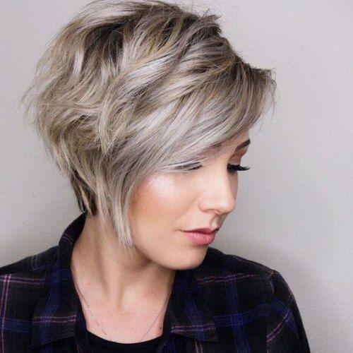 Asymmetrical Pixie Haircuts For Thick Hair Short Hairstyles For Thick Hair Thick Hair Styles Haircut For Thick Hair