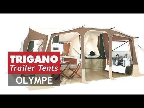 Olympe de Trigano, l'auvent s'ouvre en même temps que les chambres