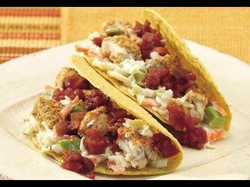 Diese Fisch-Tacos erfreuen sich vor allem in den Küstenstädten Kaliforniens größter Beliebtheit. Mit tiefgefrorenem Fischfilet, fertigem Krautsalat und unserer Old El Paso™ Salsa geht die Zubereitung leicht von der Hand!