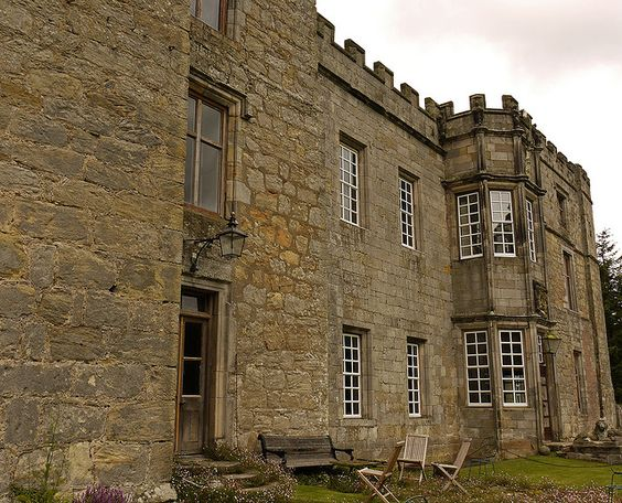 The Backside of Chillingham Castle; from Castle to Mansion (Pt. 2) by Powder Hunter (away skiing folks...), via Flickr
