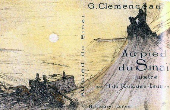 Toulouse-Lautrec 1898 Au pied du Sinaï Lithographie. #Affiches #Paris #Posters @deFharo