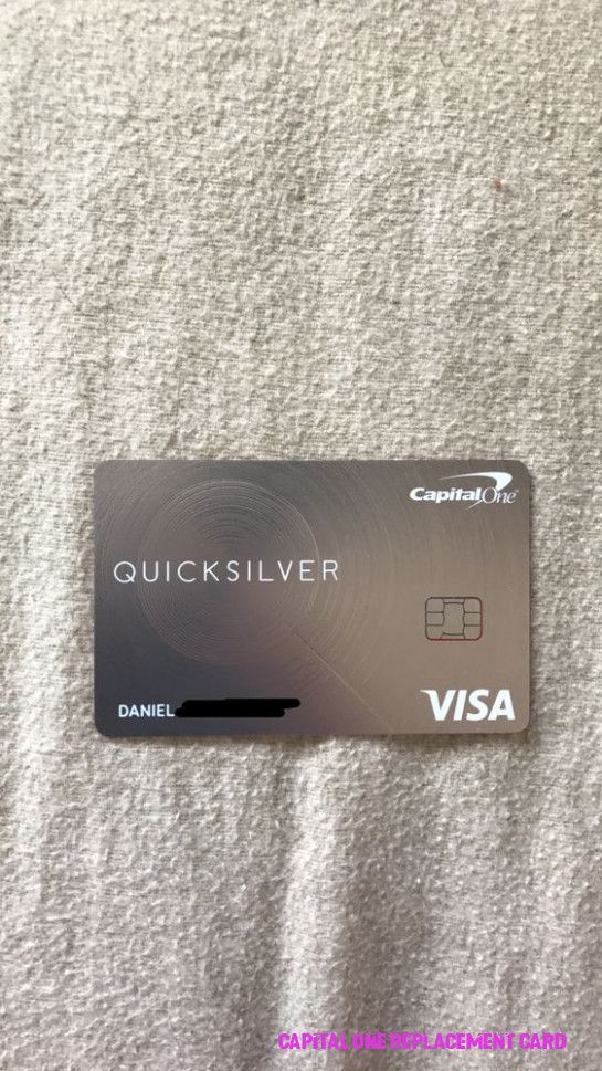 Five Easy Ways To Facilitate Capital One Replacement Card Capital One Replacement Card Credit Card Design Credit Card Apply Card Design