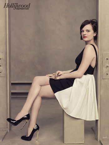 THR Emmy Roundtable: Behind-the-Scenes Photos of TV's Hottest Drama Actresses: Elisabeth Moss