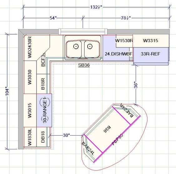 standard kitchen layouts home kitchen layouts home kitchens kitchen