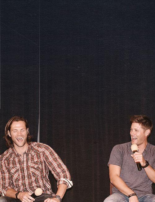 Jensen & Jared This just makes me smile <3 #JensenAckles #JaredPadalecki