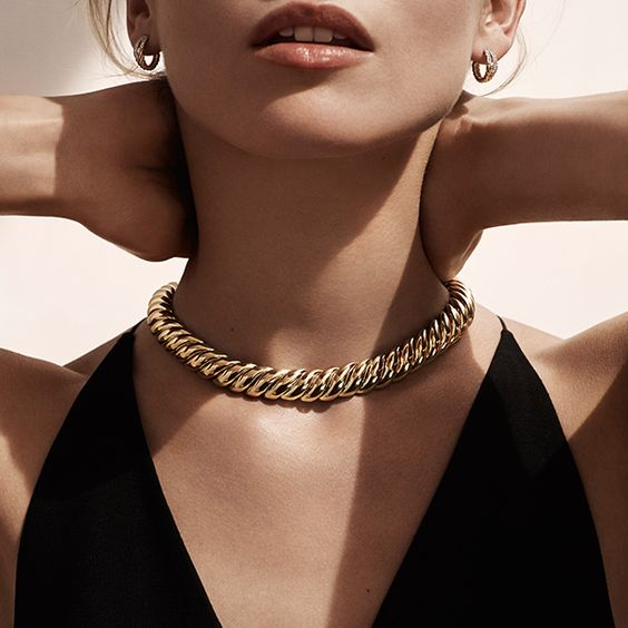 Classic gold designs from @davidyurman - how do you style your little black dress? #mccaskillandcompany