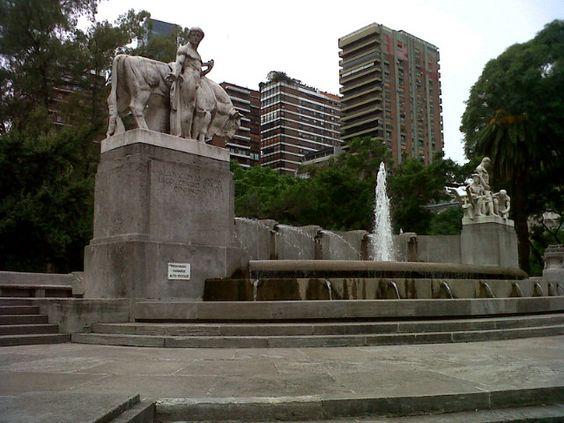 Plaza Alemania en Baires, Buenos Aires C.F.