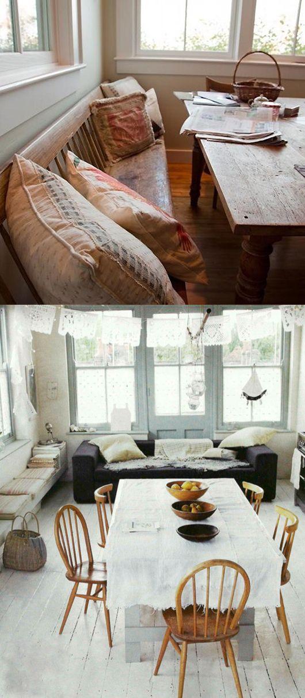 sofa, bank, esstisch und küche