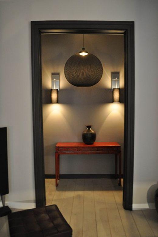 habillage mdf pour bati de porte Maison Pinterest Doors - peindre un encadrement de porte