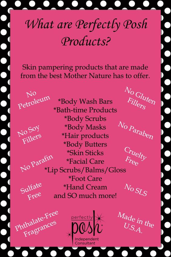 Are Perfectly Posh Products All Natural