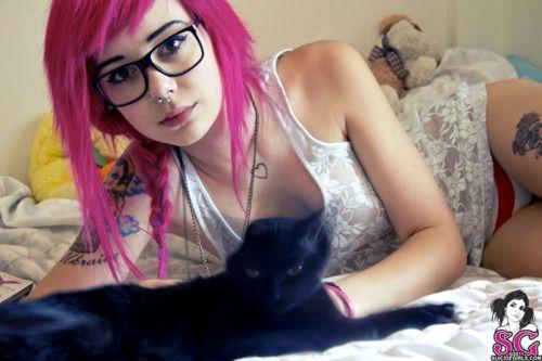 plum suicide girl