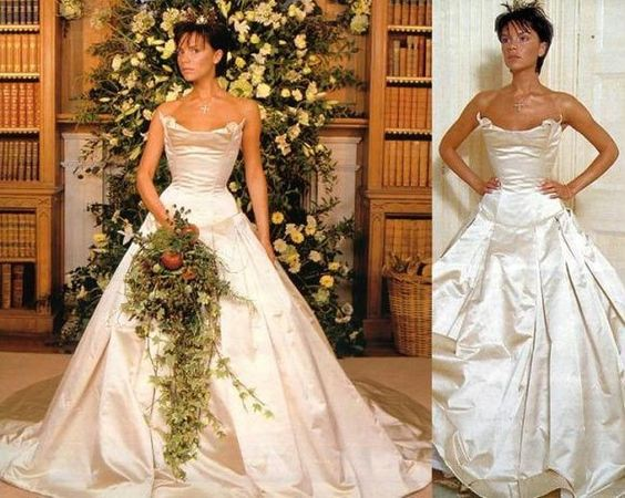 Victoria Beckhams Wedding Dress